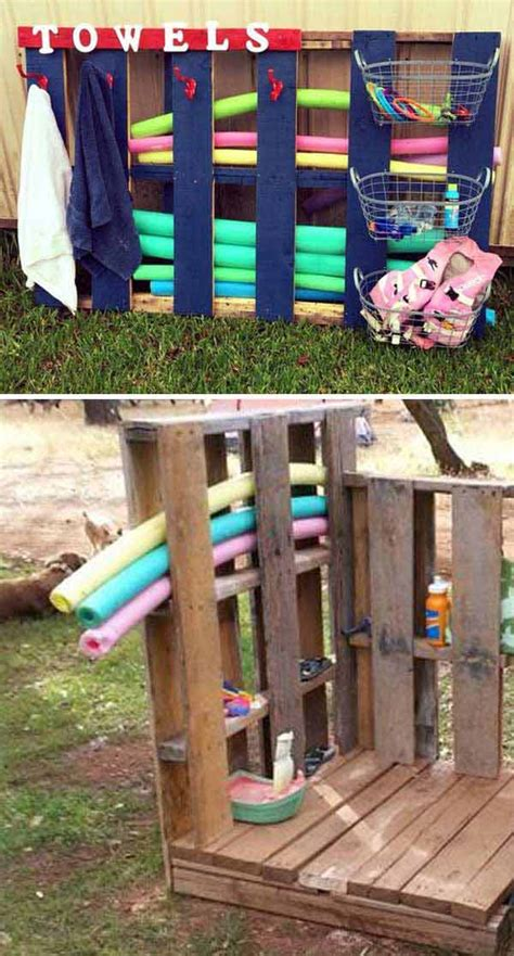 money backyard pallet diys  kids summer fun