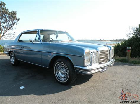 mercedes w114 coupe mercedes w114 280 ce 1973 pillarless coupe 4 speed auto