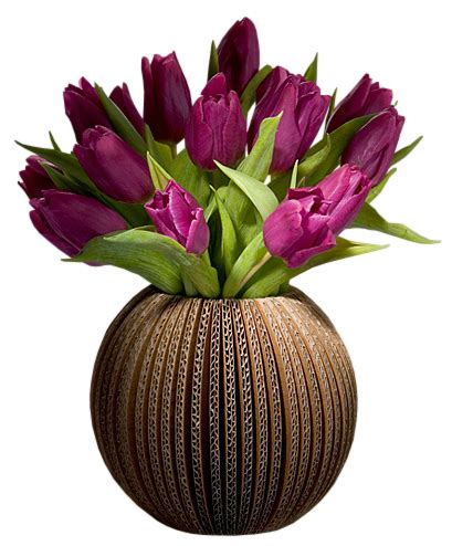 Flower Vase Png by Purple Tulips Vase Png Picture Clipart Hj 228 Rtan