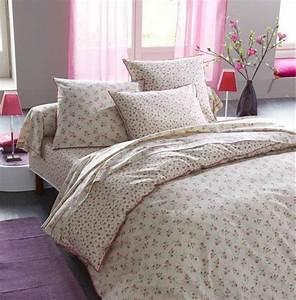 Housse De Couette Vieux Rose : parure de lit romantic vintage 140x200 linge de maison ~ Teatrodelosmanantiales.com Idées de Décoration