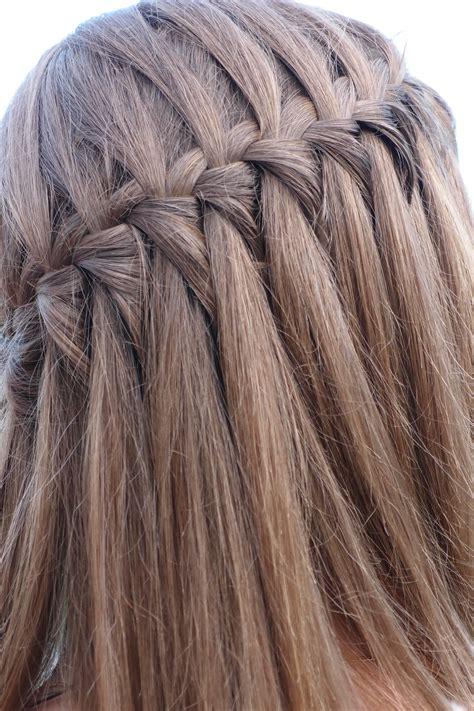 si鑒e pour tresse cascade facile si cheveux je peux