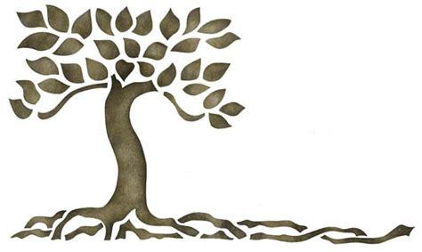 stencil tree wall art elitflat