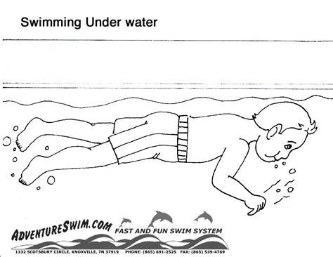 swimming coloring pages swimming coloring page handipoints grig3 org