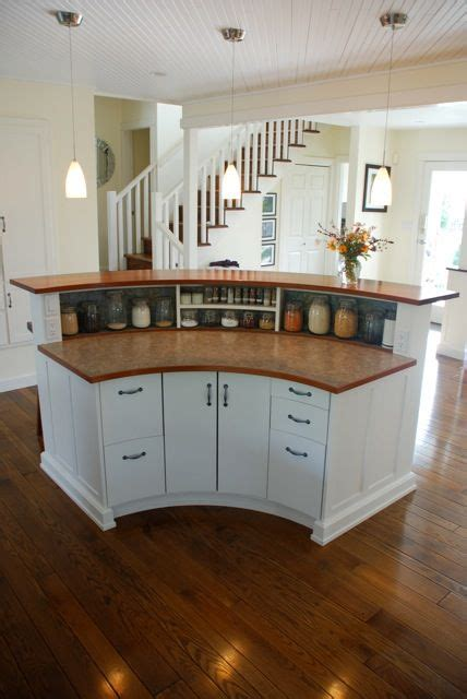 circular kitchen island this island is part of our house renovation designed