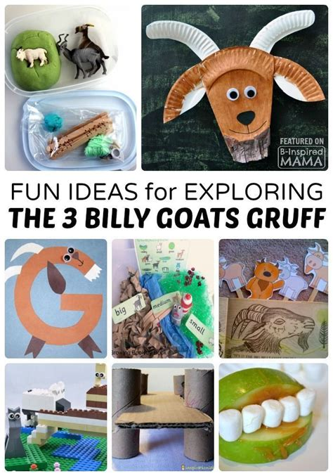 89 best the three billy goats gruff images on 130 | 8499e93be74555d788e56a1d4d5d59c9 fun kids activities preschool activities