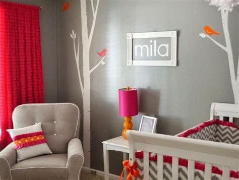 chambre bébé orange déco de la chambre bébé fille sans en 25 idées