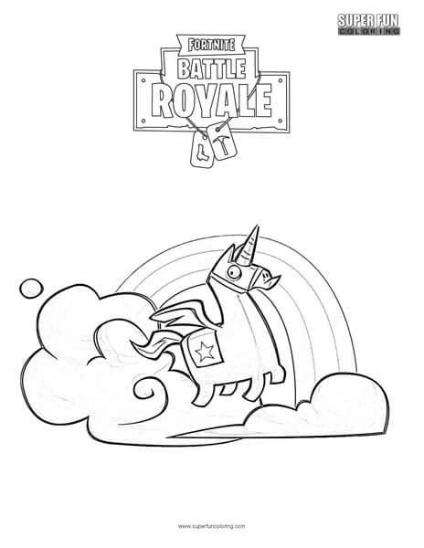 disegni da colorare fortnite lama brite llama fortnite coloring page coloring
