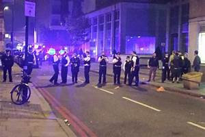 Ravers clashed with police in London on Saturday night ...
