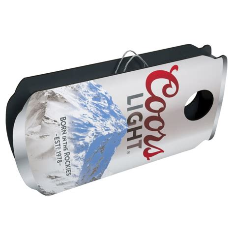 coors light corn hole coors light beer can board set boozingear com