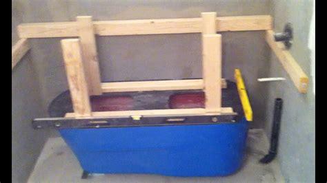 making  concrete bath tub part  setup youtube