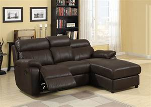 Homelegance gaines sectional sofa brown bomber jacket for Microfiber recliner sectional sofa couch chaise