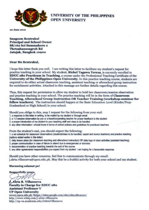 Sle Cover Letter For Practicum by Thank You Letter To Practicum 28 Images Thank You