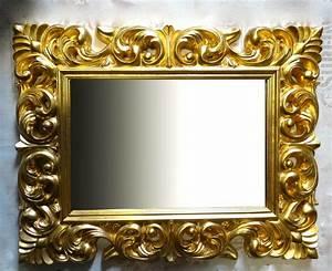 Spiegel Mit Goldrahmen : gro er barock wandspiegel ornament 70x90 standspiegel spiegel gold flurspiegel kaufen bei ~ Indierocktalk.com Haus und Dekorationen