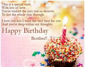 290+ Happy Birthday Wishes for Brother - Quotes
