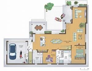 maison en bois 1 detail du plan de maison en bois 1 With faire un plan de maison 1 pavillon classique detail du plan de pavillon classique