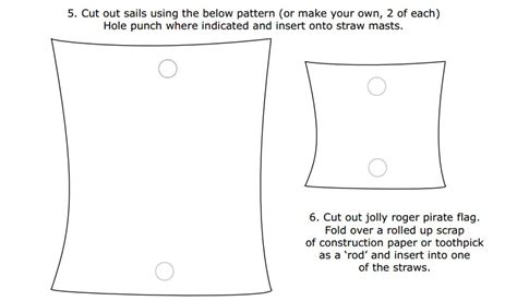 Pirate Ship Sail Template 5 best images of printable picture of a sail simple