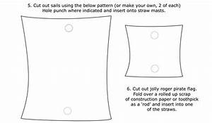 5 best images of printable picture of a sail simple for Pirate ship sail template