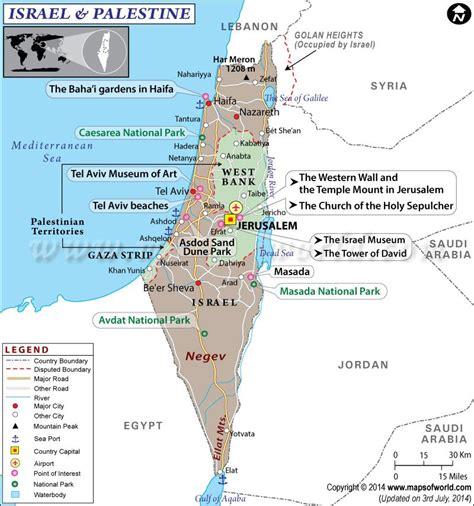 map  israel  palestine  maps   palestine