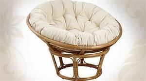 Coussin Rond Pour Chaise : coussin pour fauteuil papasan en rotin loveuse 98 cm ~ Teatrodelosmanantiales.com Idées de Décoration