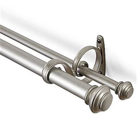 1000 images about double curtain rods on pinterest
