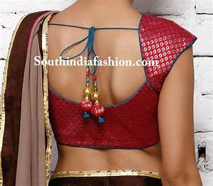 Simple Back Neck Designs For Blouse Long Blouse With Pants