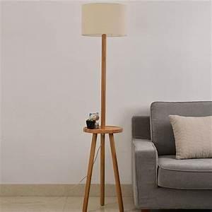 2017 brown cloth e27 floor lamps fashion room 110v 240v for Floor lamp knob