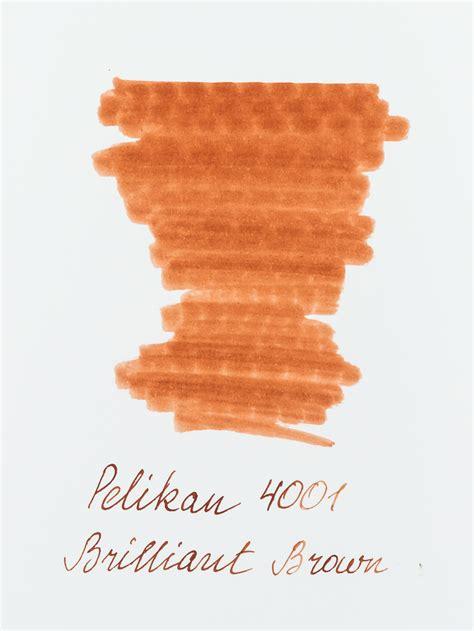 Brilliant Brown by Pelikan 4001 Brilliant Brown 2 5ml Ink Sle Scribe Market