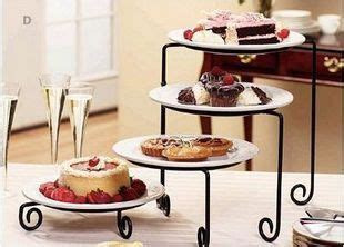 tier iron metal cake cupcake dessert fruit stand food display holder party accessories