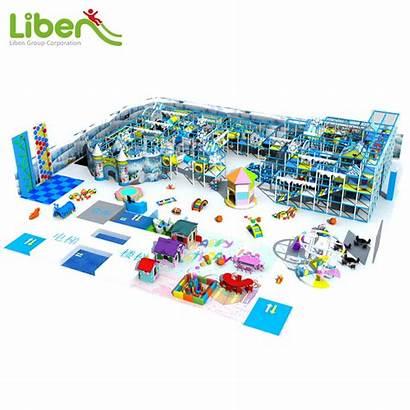 Indoor Playground Ice Kingdom China Amusement Fort