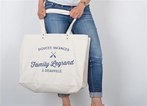 sac en toile a personnaliser shopping femme le sac personnalis 233 factorychic les trouvailles de jos 233 phine