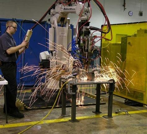 welding spot robot end effector service wikipedia file metal services examples wiki industry