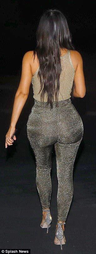 Kim Kardashian leaves little to the imagination in LA ...
