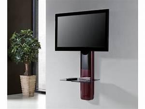 Etagere Pour Tv : support mural tv etagere ~ Teatrodelosmanantiales.com Idées de Décoration