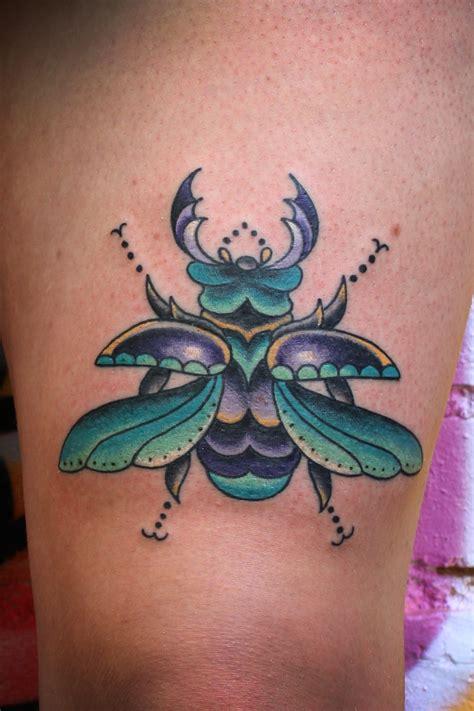 Tribal Tattoo On Thigh
