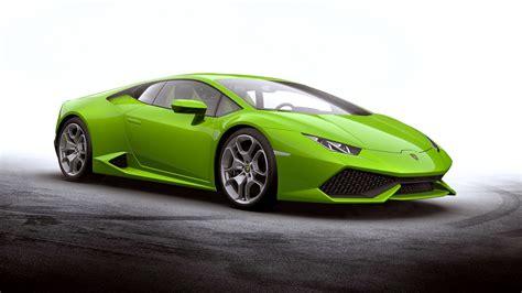 Green Car Lamborghini Huracan Wallpapers Hd / Desktop And