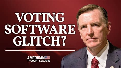 Video: Rep. Paul Gosar Calls for Hand Tally in Arizona to ...