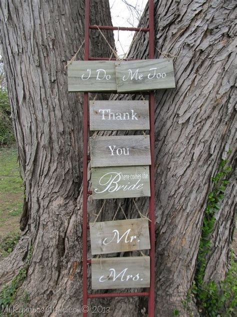 1000 images about diy things to make from old ladders on