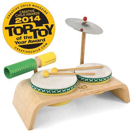 beginner drum set green tones musical instruments for 260 | GreenTones 3750 BeginnerDrums top toy