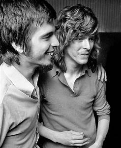 Tony Visconti and David Bowie 70s. | David Bowie ...