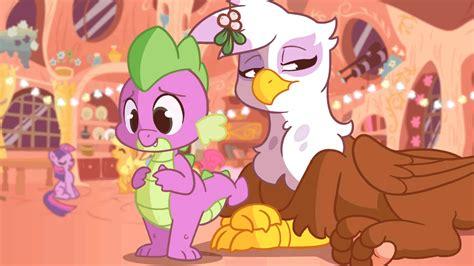 spike mlp applejack gilda rainbow dash animated e621 twilight pinkie pie sparkle zonkpunch griffon pony kissing dragon pegasus tiarawhy gryphon