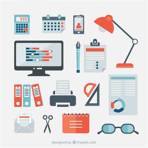 affaires de bureau articles de bureau d 39 affaires télécharger des vecteurs
