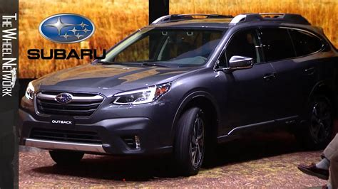 Subaru Outback 2020 New York by 2020 Subaru Outback Reveal Highlights 2019 New York Auto