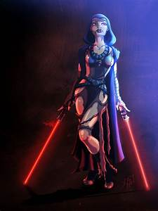 Asajj Ventress by MichaelPatrick42 on DeviantArt