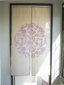Door curtain fabric paint design from the bedding on for Fabric doorway curtains