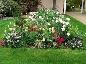 comment creer un massif fleuri choix des plantes et conseils With chambre bébé design avec bordure massif fleuri