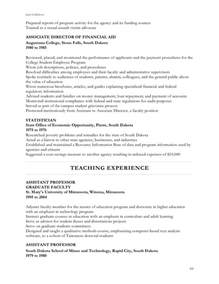 Victim Services Advocate Resume by Jan S Resume