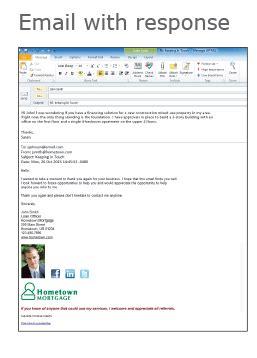 loan officer marketing client follow  prospecting