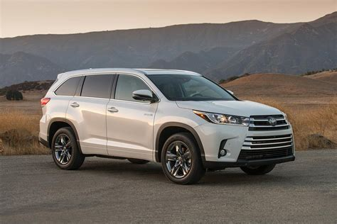 Toyota Highlander Greets 2017 Model Year With More Power
