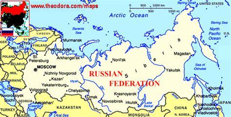 abc maps  russia