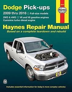 Dodge Pick-ups 2009 Thru 2016  2wd  U0026 4wd - V6 And V8 Gasoline Engines